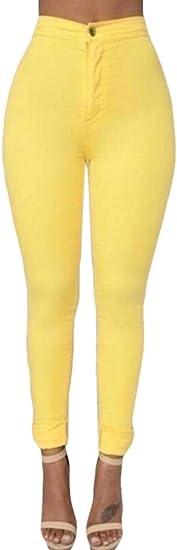 FRPE Women's Skinny Stretch High Waisted Fashion Denim Jeans Pants