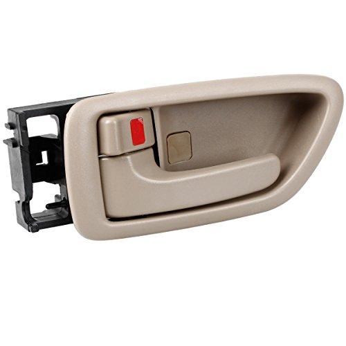 Avalon Door - AUTEX 1pcs Beige Interior Door Handle Front/Rear Left (Driver Side) for 2000 2001 2002 2003 2004 Toyota Avalon