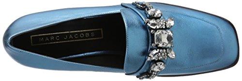 Marc Jacobs Womens Tilde Impreziosito Mocassino Azzurro