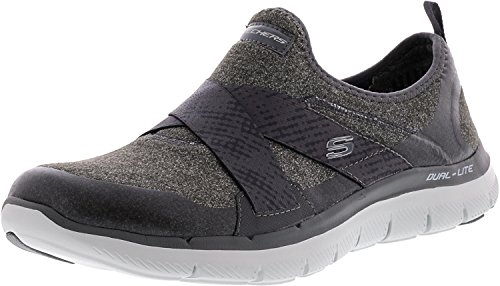 Skechers Eyed 0 Flex Formateurs Bright Femme 2 Appeal Anthracite rwrqRf