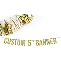 """Custom 5"""" Standard Party Banner 