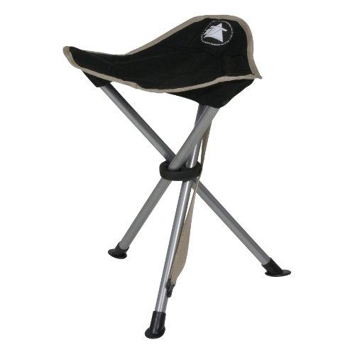 10T Tripod - Camping-Stuhl Dreibein-Hocker 45cm Sitzhöhe handliche 800g leicht