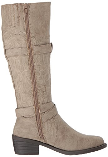 embossed Boot Harness taupe Street Easy Kelsa Women's FqgYza4