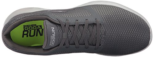 Uomo Scarpe Charcoal Refine Sportive Indoor 600 Run Grigio Go Skechers TxqSaw