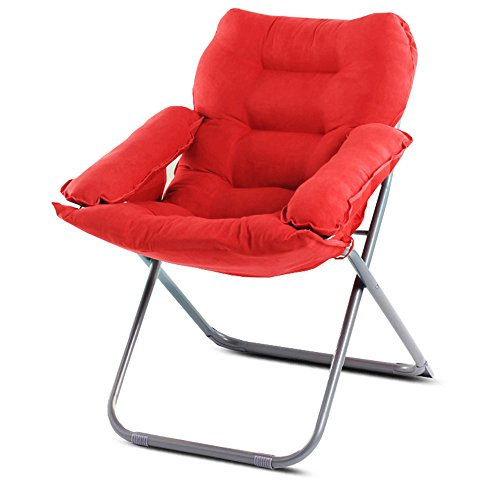 Computer chair / home lazy chair / folding college dormitory balcony office chaise longue / bedroom game chair / chair 65 66 43 / 95cm ( Color : 9 ) by Folding Chair (Image #8)