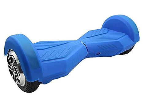 Amazon.com: Funda protectora de silicona para 2 ruedas de 8 ...