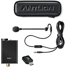 Antlion Audio ModMic 5 Noise-Canceling Microphone -INCLUDES- FiiO E10K USB DAC Headphone Amplifier and USB Adapter for Windows, Linux & Mac OS