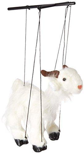 "Sunny Toys 16"" Baby White Goat Marionette"
