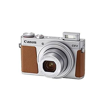Canon PowerShot G9 X Mark II Digital Camera with Built-in Wi-Fi & Bluetooth w/ 3 inch LCD (Silver)