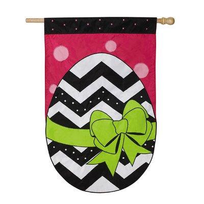 Happy Easter Egg Vertical Flag