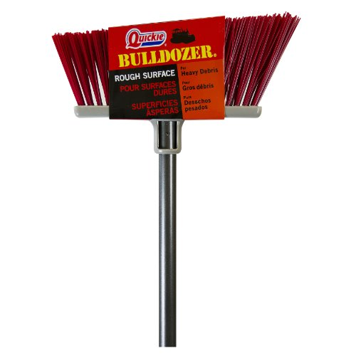 Quickie Bulldozer Rough Surface Upright Broom