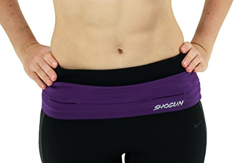 Running Belt by Shogun Sports with storage for your phone. Great for Running, Gym Workouts, Yoga, Trekking