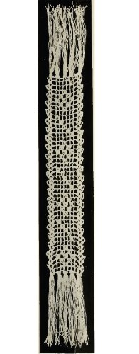 Jewel Book Mark. Vintage Crochet Pattern [Annotated]