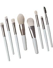 Makeup Brushes Set Professional 8Pcs Set Makeup Brush Skin-friendly Super Soft Bristles Artificial Fiber Eyebrow Cosmetic Brush Travel Cute makeup brushes