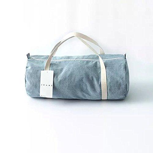 Denim Duffle Bag - 3