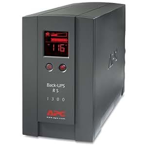 APC BR1300LCD Back-UPS RS 1300VA sistema de alimentación ininterrumpida (UPS) - Fuente de alimentación continua (UPS) (1300 VA, 780 W, 340 J, 1,8 m, 16 h, 16,4 min)