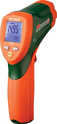 Extech 42512 Dual Laser Infrared Thermometer by Extech