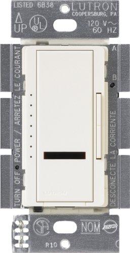 UPC 027557211574, Lutron Lutron MIRELV-600-BI Maestro IR 600-Watt Single Pole Electronic Low-Voltage Dimmer, Biscuit