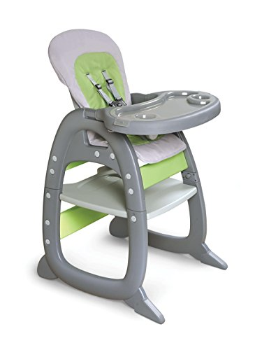 (Badger Basket Envee II Baby High Chair with Playtable Conversion,)