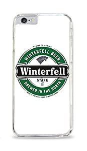 Stark Winterfell Beer Game Of Thrones Clear Hardshell Case for ipad iphone 5/5s