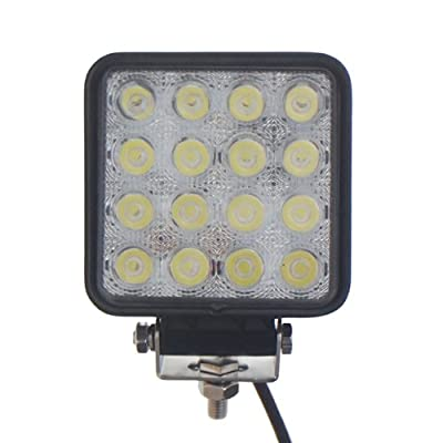 TMH 48w Square Shape 30 Degree LED Work Light Spot Lamp