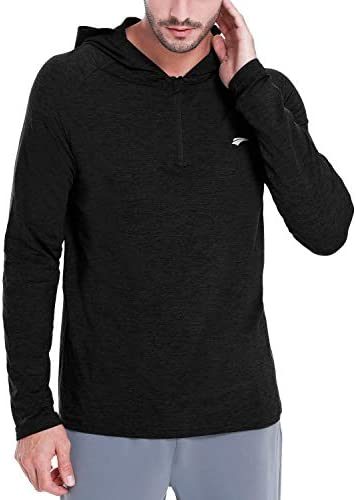 EZRUN Lightweight Long Sleeve Quarter Zip Sweatshirt product image