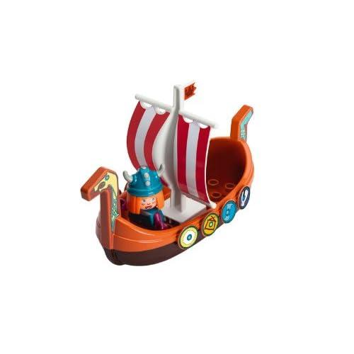 Smoby Big - 800055128 - BatEau -Dragon Wickie - Figurine Incluse - Jeu de Bain