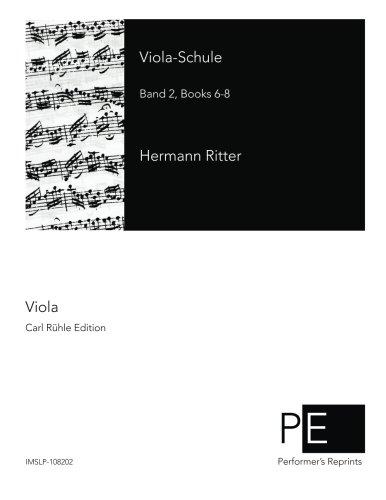 Viola-Schule: Band 2, Books 6-8  [Ritter, Hermann] (Tapa Blanda)
