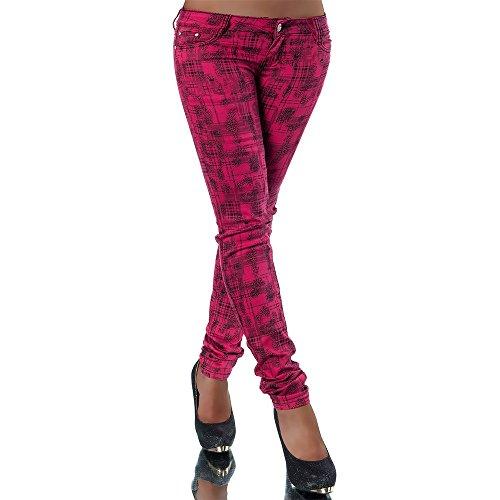 Rosa Dele Vaqueros mujer para skinny Hpwxxzfq0