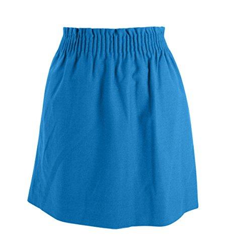 J Crew Factory - Women's - Solid Colors - Pull-on Sidewalk Mini Skirt (6, Barcelona - Linen Crew J