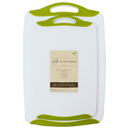 Vettore Non Slip Poly Cutting Board Dishwasher Safe BPA Free