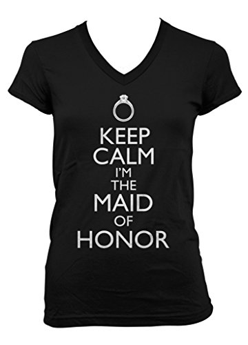 Cybertela Keep Calm I'm The Maid Of Honor Junior