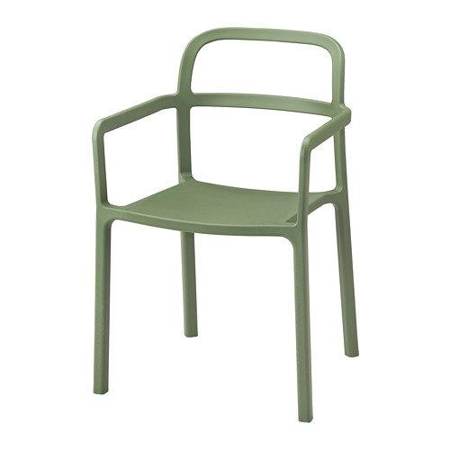 Unbekannt IKEA YPPERLIG Armlehnstuhl für drinnen und draußen; in grün