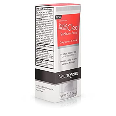 Neutrogena Rapid Clear Acne Defense Face Lotion, 1.7 Ounce (Pack of 3)