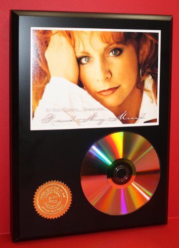 Reba Mcentire 24Kt Gold CD Disc Display - Music Memorabilia - Award Quality - Limited Edition from Gold Record Outlet