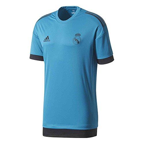 adidas Men's Real Madrid UCL Training Jersey (Medium) Vivid Teal / Black (Training Ucl)