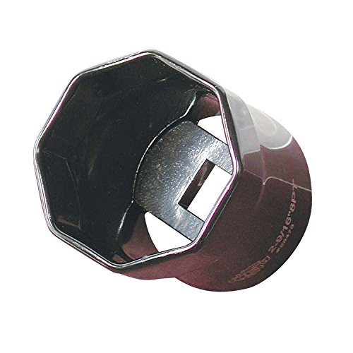 OEMTOOLS 25473  2-9/16 Inch Truck Wheel Bearing Locknut Socket - 8 Point Wheel Bearing Locknut