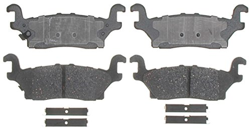 Price comparison product image ACDelco 17D1120CH Professional Ceramic Rear Disc Brake Pad Set