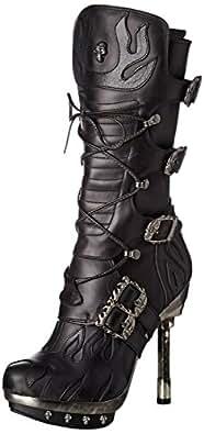 New Rock New Rock M-punk049-s1 - Botas Estilo Motero Mujer  Amazon ... c02440442289