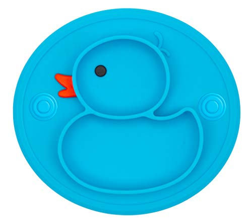 Qshare Toddler Plates One-Piece