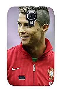 High Grade Letteredor Flexible Tpu Case For Galaxy S4 - Cristiano Ronaldo