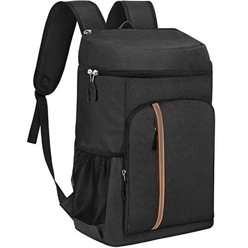 KeShi Cooler Backpack Insulated Leakproof Backpack Cooler 30L Large Capacity Lightweight Soft Cooler...