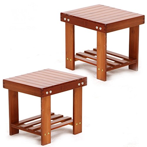 Simple Wooden Small Stool Small Bench for Children Small Squ