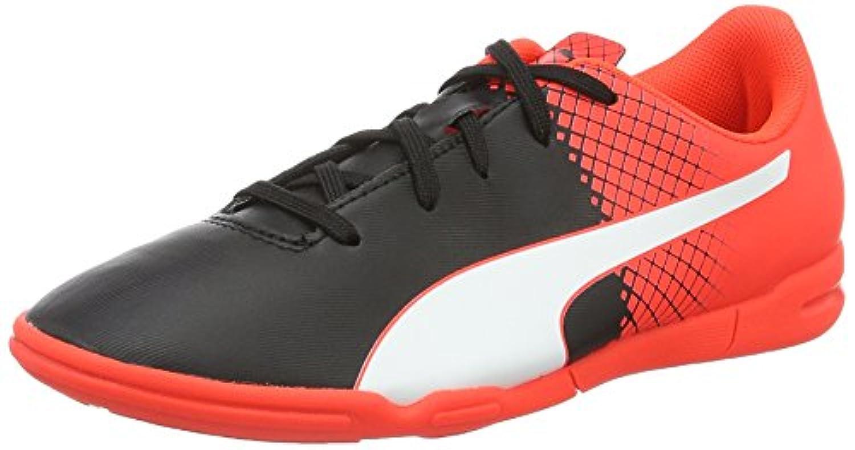 Puma Unisex Kids' Evospeed 5.5 It Jr Football Training Shoes white Size: 1 UK