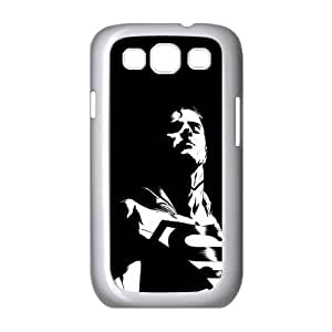 Superman Dark Background Samsung Galaxy S3 9300 Cell Phone Case White Protect your phone BVS_697075