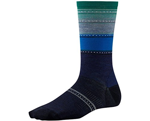 Smartwool Women's Sulawesi Stripe Socks (Ink Heather) Medium