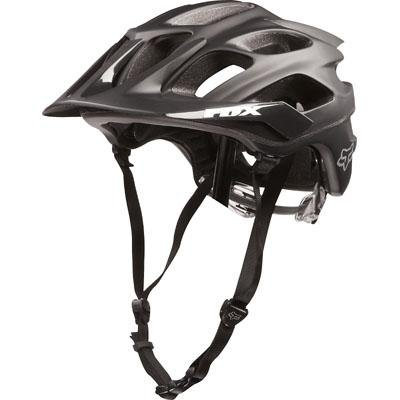 Fox Men's Flux Helmet, Matte Black, X-Small/Small