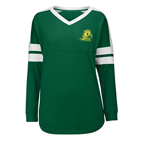 n Ducks Women's Gotta Have It Cheer Tee, Medium, Green/White ()
