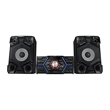 Samsung MX-JS5000/ZA 4 Channel 1,600 Watt Wired Audio Giga Sound System (2015 Model)