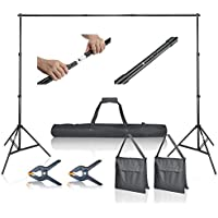 Emart Photo Video Studio 10Ft Adjustable Background Stand...